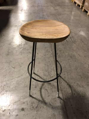 Bar stool solid wood for Sale in Austin, TX