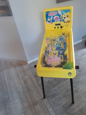 SPONGEBOB PINBALL MACHINE $35 for Sale in Las Vegas, NV