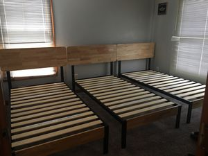 Wayfair Ursela Twin size beds/ only 1 left for Sale in Columbus, OH