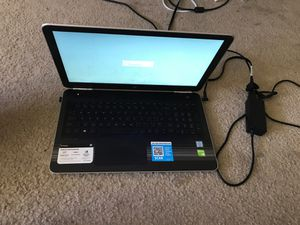 """HP Pavilion 15-au018wm 15.6"""" liquid platinum gaming laptop for Sale in Denton, TX"""