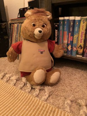 Teddy Ruxpin With one tape for Sale in El Paso, TX