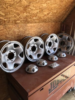 Toyota Tundra stock wheels set of 4 for Sale in Columbia, MO