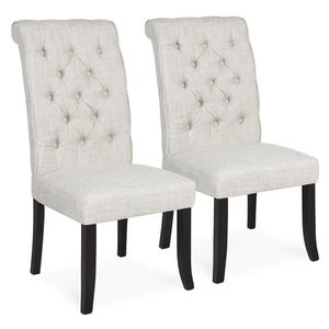 Brand New Set of 2 Tufted Parsons Dining Chairs for Sale in Columbus, OH