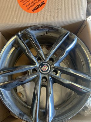 18 inch Cadillac Rims for Sale in Monterey, CA