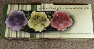 Condiment serving ware for Sale in Fairfax, VA