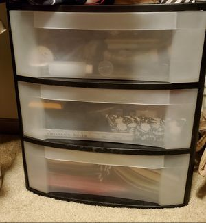 Plastic storage drawers for Sale in Nashville, TN