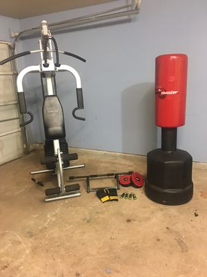 Triumph Home Gym and Exercise Combo for Sale in Houston, TX