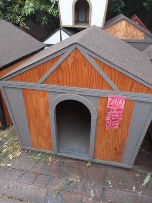 gray dog house for sale $200 for Sale in Corona, CA