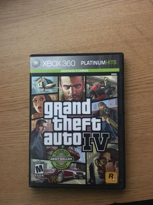 Xbox 360 Game GTA 4 for Sale in Chicago, IL