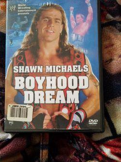 Wwf Shawn Michaels Boy Hood Dream Dvd for Sale in Chicago,  IL