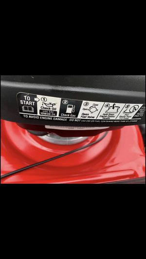 Troy Bilt lawn mower self propelled with bag for Sale in Reading, PA