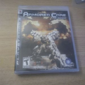 Rare Factory Sealed Ps3 Armored Core For Answer Game for Sale in Santa Clara, CA