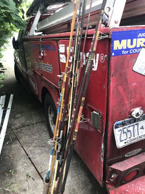 Vintage fishing rods for Sale in East Meadow, NY