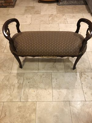 Vintage Louis the XIV Style Bench for Sale in Vista, CA