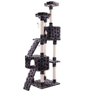A198-Indoor Cat Climber Scratching Post Tree House Large for Sale in Los Angeles, CA