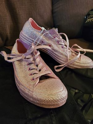 Converse All Over Glitter Size 8 Shoes for Sale in Montrose, CO