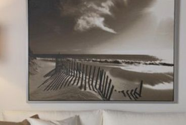 Artwork - Framed Beach Print From IKEA for Sale in Fort Lauderdale,  FL
