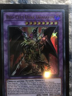 YUGIOH - RED - EYES DARKNESS DRAGOON for Sale in Franklin Park,  IL