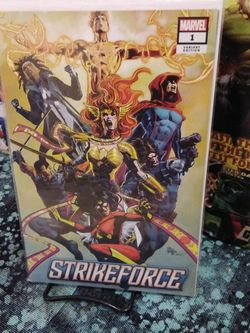 Strikeforce VARIANT ISSUE #1 - MIKE DEODATO - WALMART MARVEL | SEP 25, 2019 for Sale in Yakima,  WA