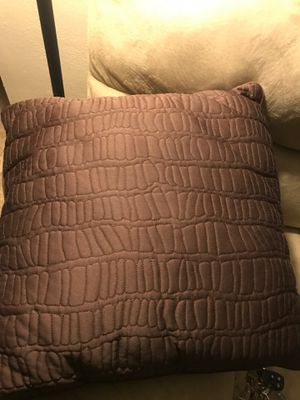 Brown pillow JCP $8 for Sale in Bakersfield, CA