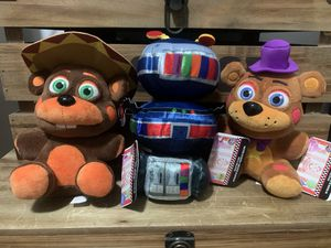 Five nights at Freddy's plushies for Sale in Ontario, CA