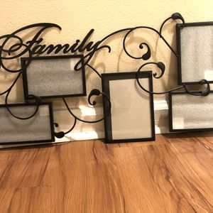 Family Multi Picture Frame for Sale in Tampa, FL
