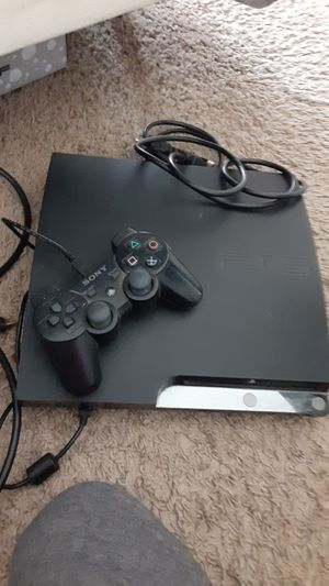 PS3 w controller and all cords for Sale in Glen Burnie, MD