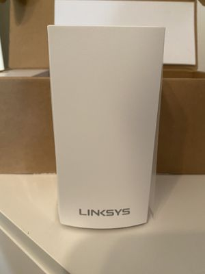 Dual band Linksys velop whole home WiFi for Sale in Bixby, OK