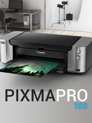 Canon PIXMA Pro-100 WiFi, Inkjet, Large Format Printer $99 for Sale in Wallington, NJ