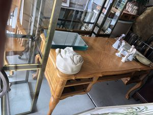 Bear claw desk and chair inlaid for Sale in Lancaster, NY