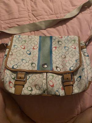 Authentic coach messenger purse for Sale in Avondale, AZ