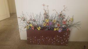 Artificial showpiece flower pot for Sale in Denver, CO