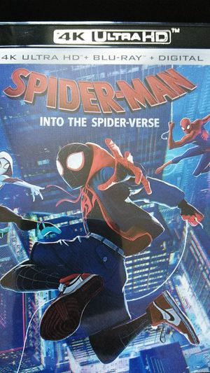 Spider-Man Into the Spiderverse 4K Digital Code for Sale in Fall River, MA