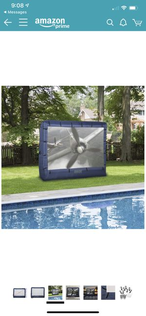 """149"""" Outdoor Inflatable Movie screen for Sale in Portland, OR"""