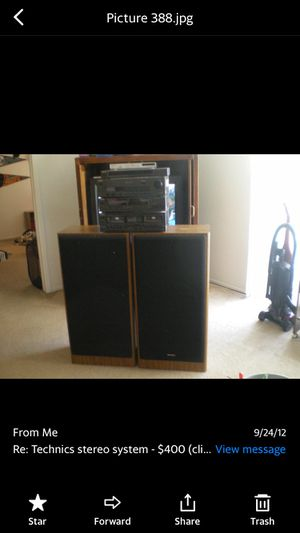 Technic home stereo system for Sale in Clinton Township, MI