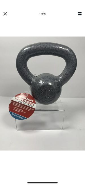 2 10 Lbs (20 lbs total) Kettlebells Weider workout for Sale in Zephyrhills, FL
