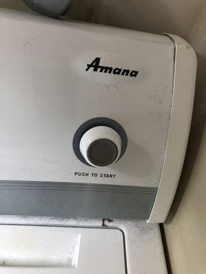 Amaña Electric Dryer for Sale in Apex, NC