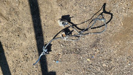 Front brake with lines cylinder and lever complete ltz400 suzuki for Sale in Lake Elsinore,  CA