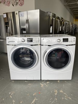 NEW GE front loading washer and electric dryer set! for Sale in Batavia, IL