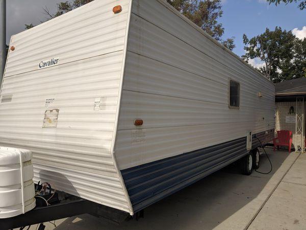 cav travel trailer 32ft