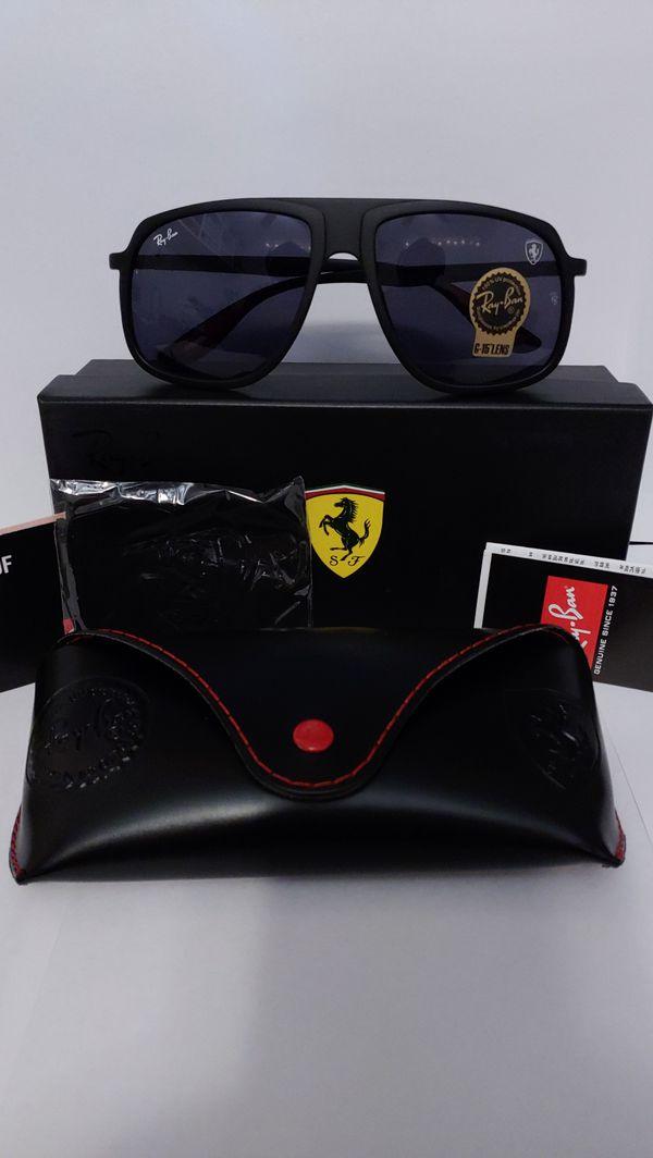 Ray Ban 4308-M Ferrari Edition 64mm Sunglasses