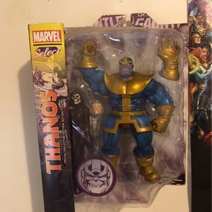 Thanos Action Figure (discontinued) for Sale in Charlotte, NC