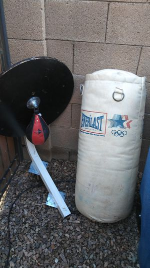 Punching bag and speed bag for Sale in Queen Creek, AZ
