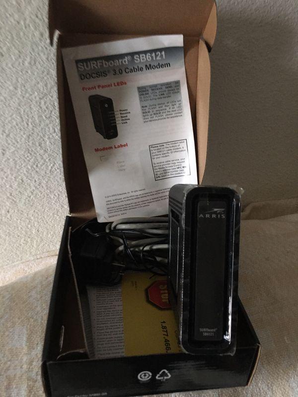 Brand new in box Motorola modem