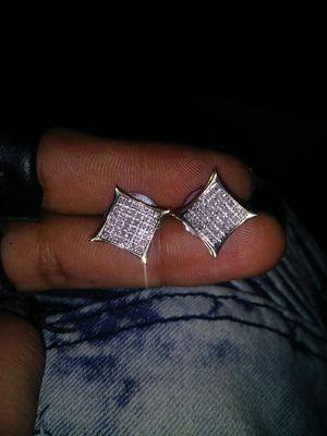 10 k 1.25 diamond kite earrings for Sale in New York, NY