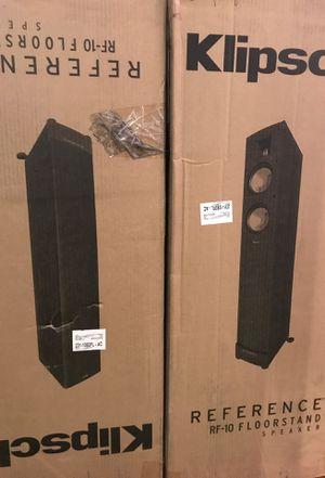 Klipsch Floorstanding Speakers RF-10 for Sale in Washington, DC