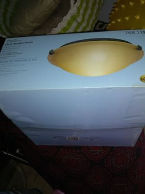 New ceiling light fixture open box for Sale in Franconia, VA