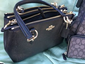 Coach purse black for Sale in Yuma, AZ