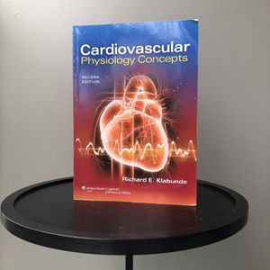 Cardiovascular Physiology Concepts 2nd Edition SDSU Kinesiology Textbook ENS 332 333 for Sale in San Diego, CA