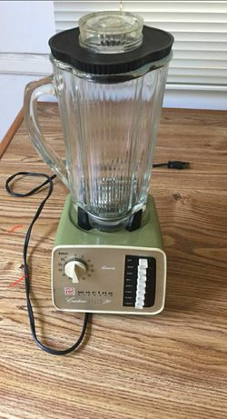 MCM Vintage Waring Blender Solid State 8 Speed Custom 70 Model NL-12 1198 w/timer for Sale in Portland,  OR